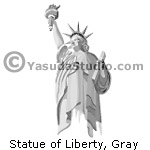 Statue of Liberty, Gray