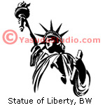 Statue of Liberty, 1 Color