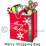 Merry Shopping Bag