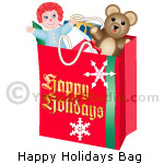 Holiday Shopping Bag