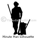 Minute Man Silhouette